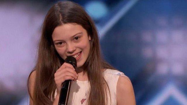 Courtney Hadwin, 14, wows America's Got Talent