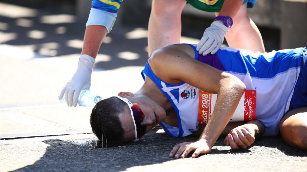 Hawkins will 'learn' from marathon collapse