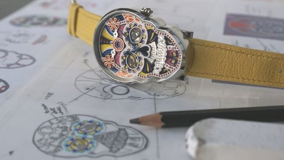 The woman who brought skull watches back to life
