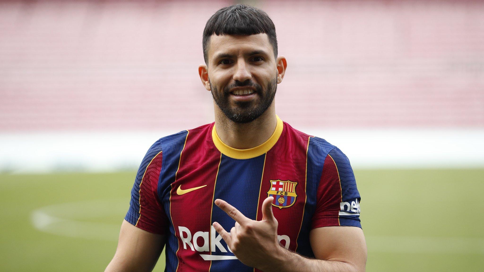 Sergio Aguero Barcelona Igiye Kugura Uyu Rutahizamu Wa Man City Bbc News Gahuza
