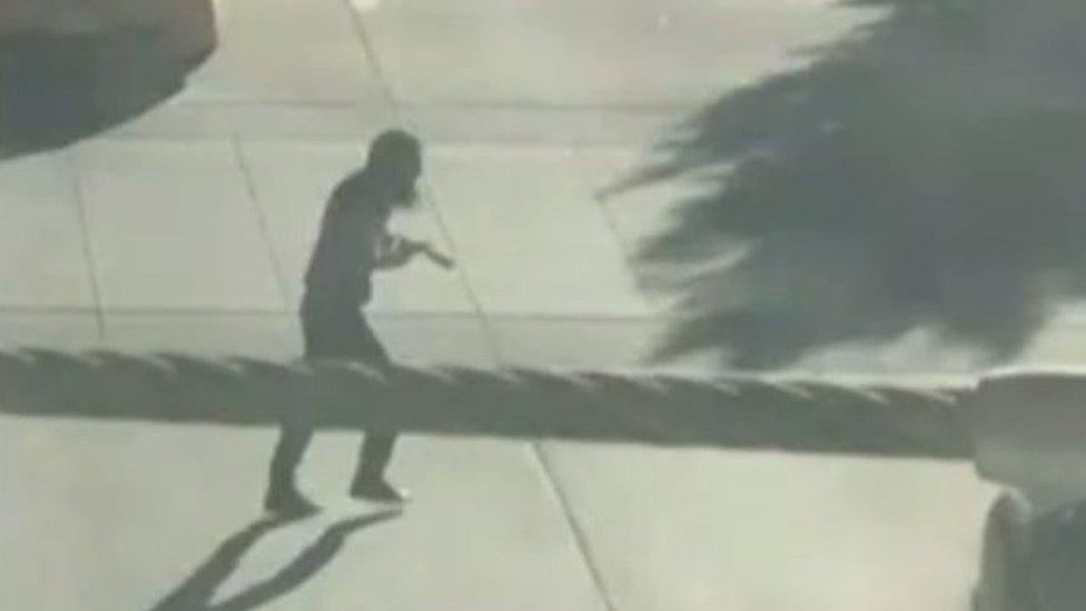 Video del atacante. Foto: Tawhid Kabir