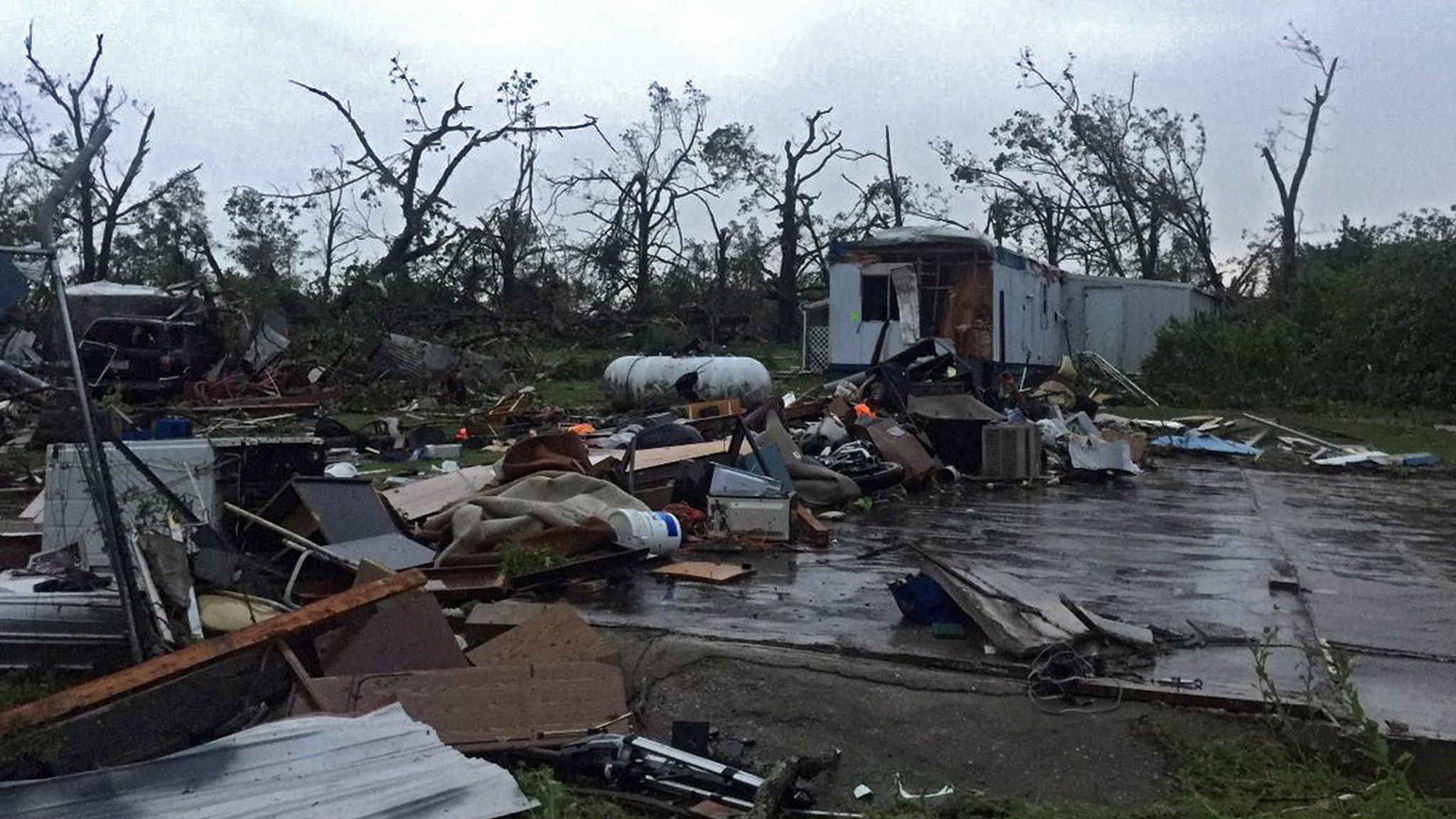 Killer tornado hurls US elderly couple from home