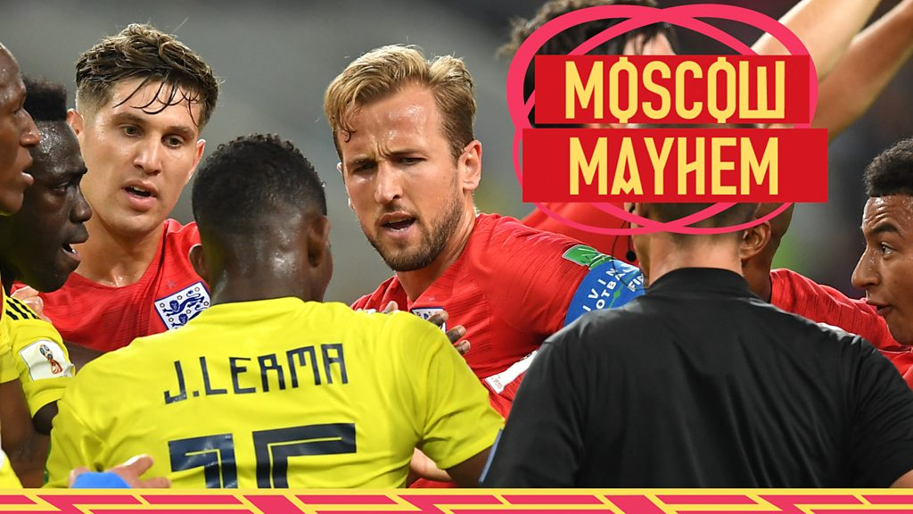 Moscow mayhem: How England v Colombia almost boiled over