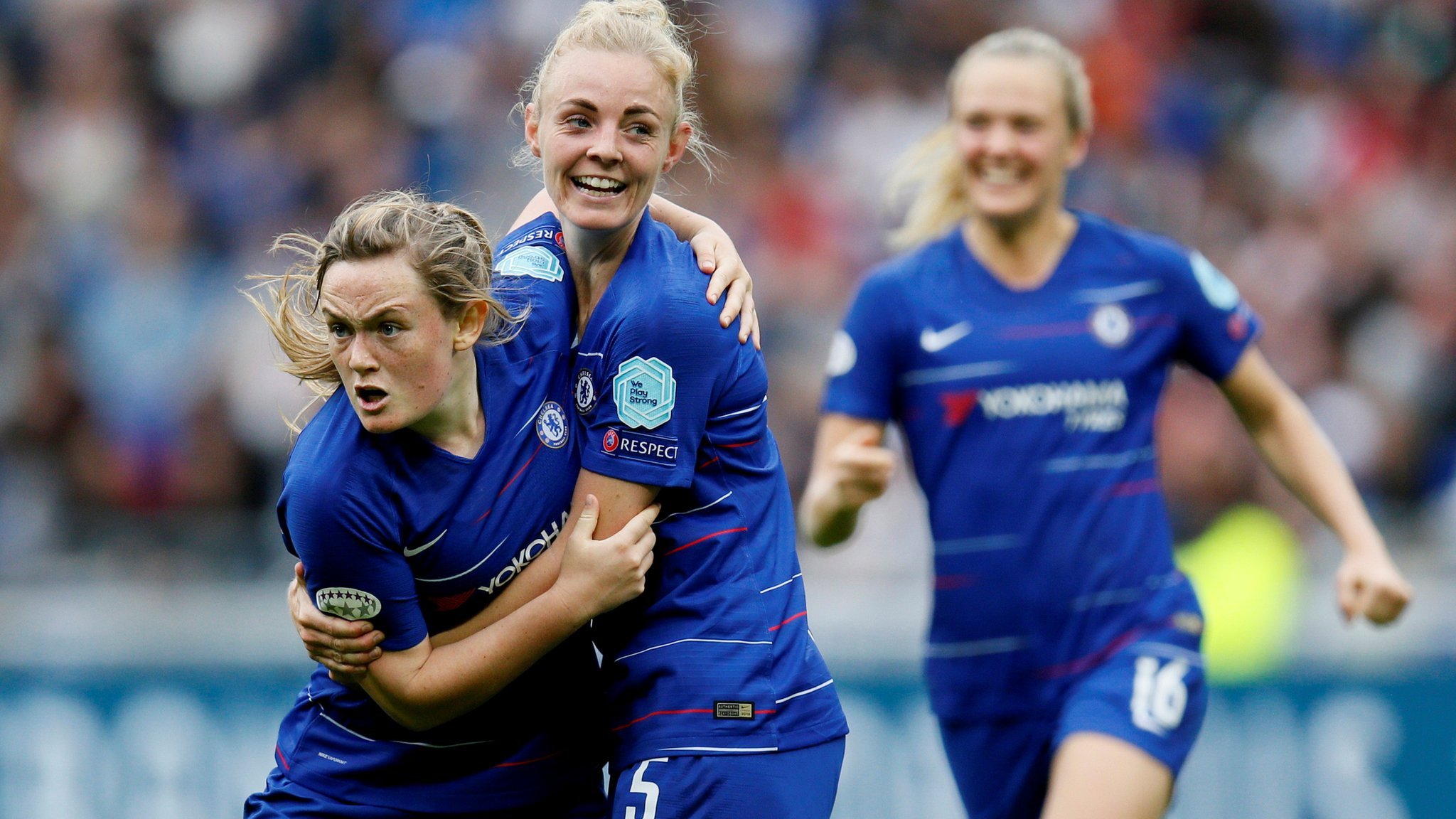 Ingle's Chelsea lose against Fishlock's Lyon