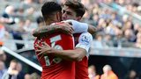 Alex Oxlade-Chamberlain and Hector Bellerin