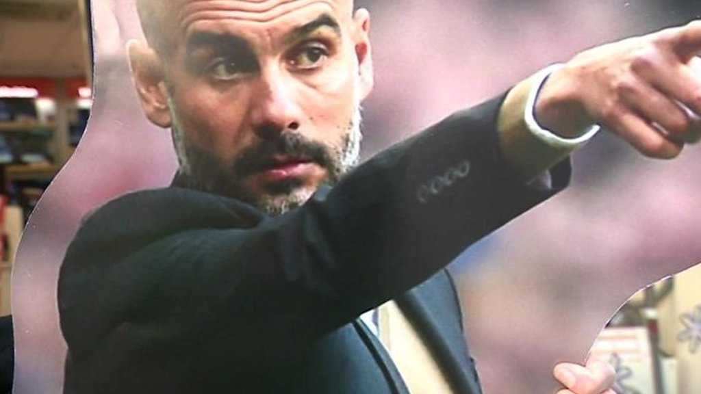 Pep Guardiola: Can Bristol shoppers recognise Manchester City manager?