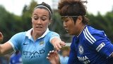 Lucy Bronze (left) and Ji So-Yun
