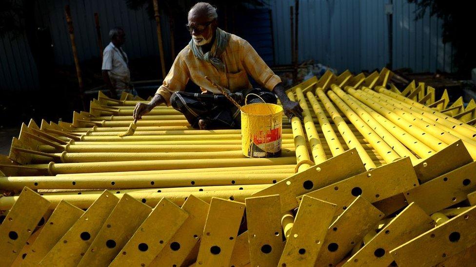 India tiene un dividendo demográfico respecto a las economías cuya fuerza laboral envejece.