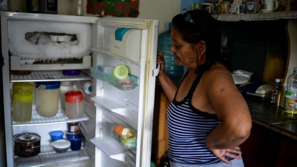 Luber Faneitte en su casa de Caracas