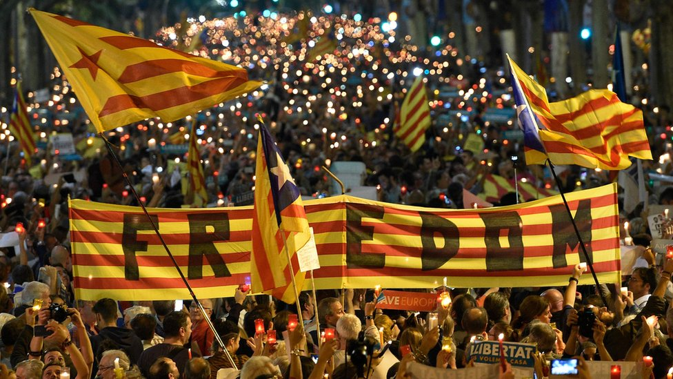 Catalan crisis: EU leaders rule out involvement in crisis