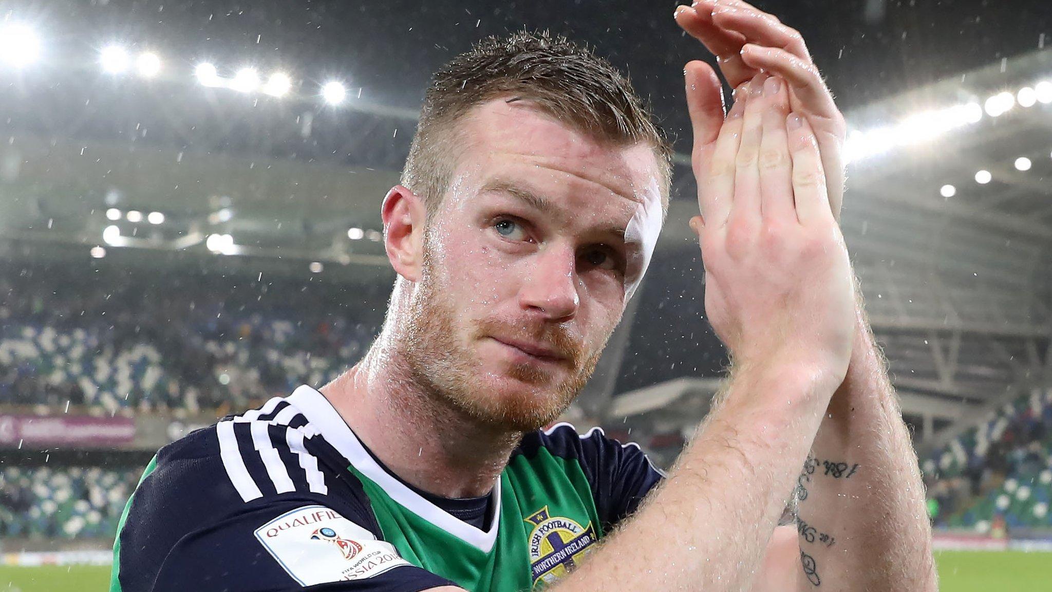 West Brom's Brunt retires from Northern Ireland duty