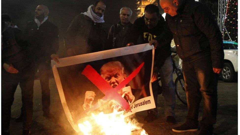 Las protestas contra Trump han iniciado incluso antes de su anuncio.