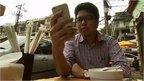Internet entrepreneur Ye Myat Min