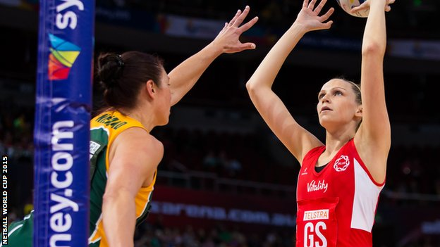 NETBALL WORLD CUP 2015  Australia, New Zealand, England and Jamaica reach semifinals