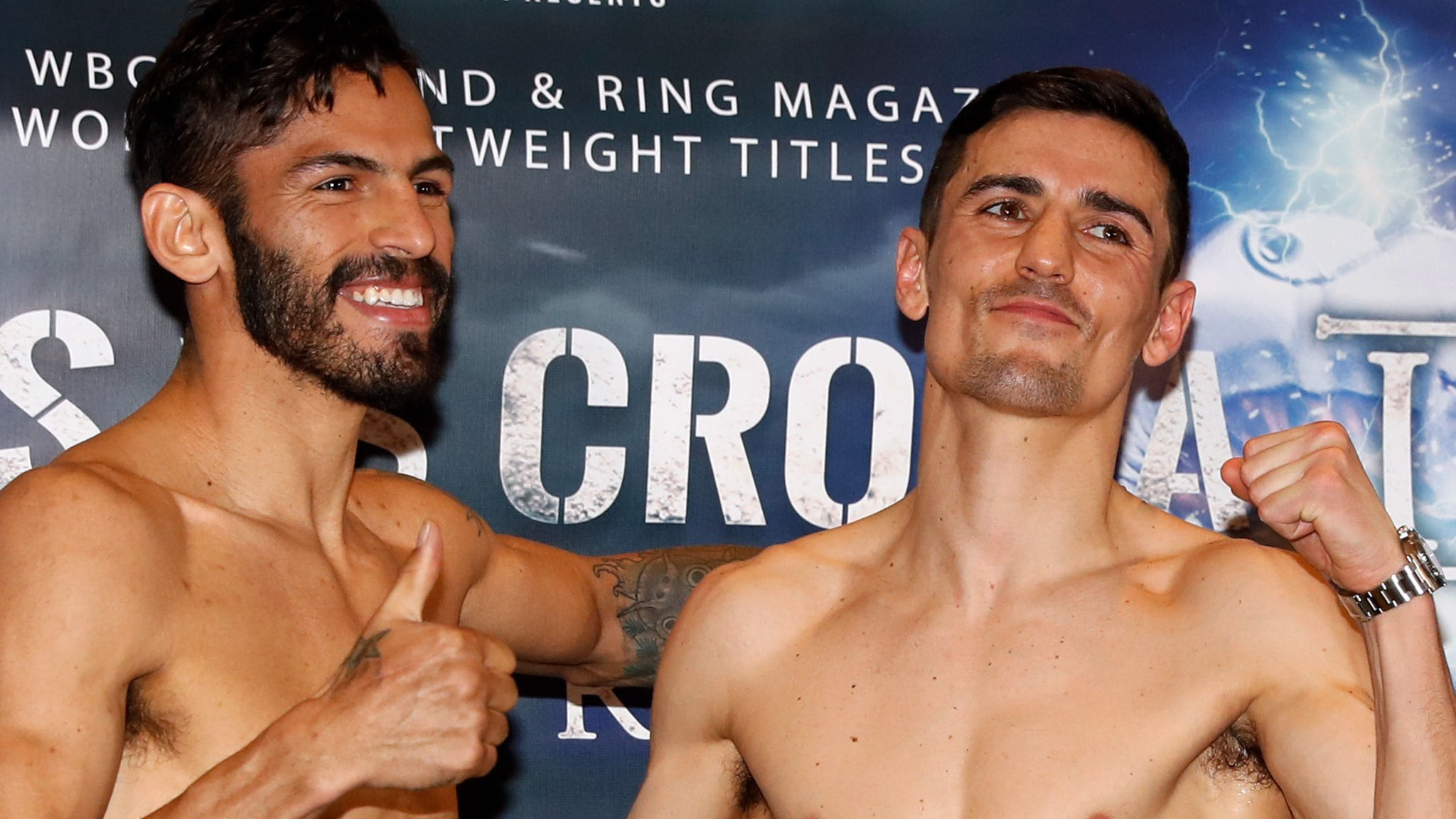 I need a career-best display to beat Linares - Crolla