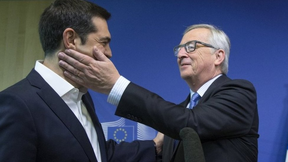 "The European Commission chief, Jean-Claude Juncker, attacks the Greek government, saying he feels ""betrayed"" by ""egotism"" and ""populism"" in the failed debt talks."