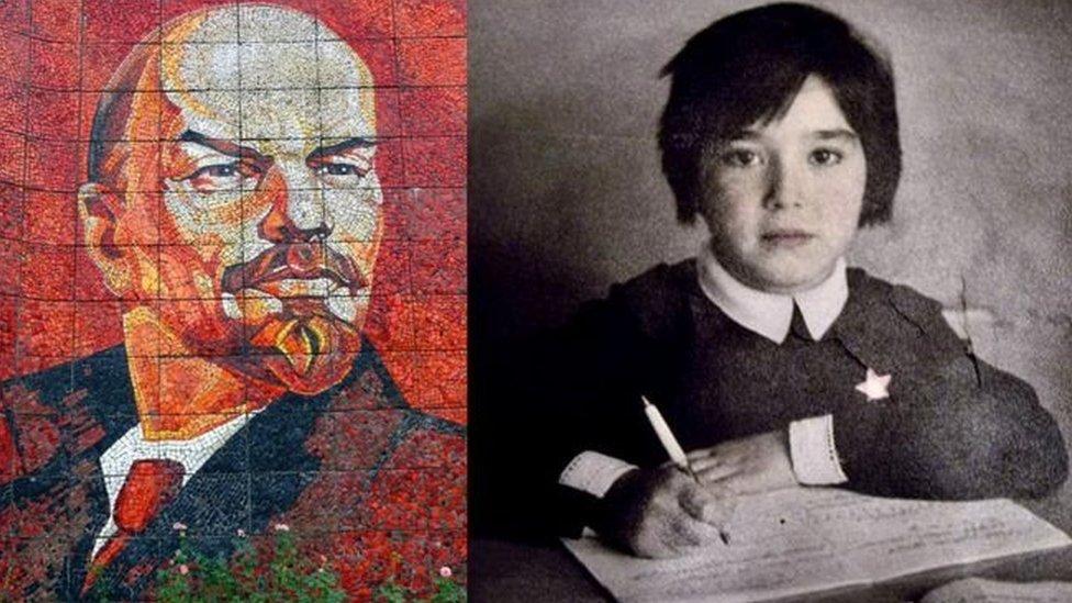 Lenin y Diloram