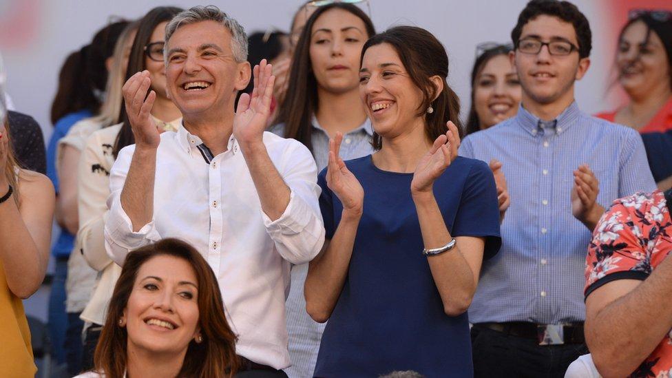 Simon Busuttil, líder del opositor Partido Nacionalista, celebró la convocatoria de elecciones anticipadas.