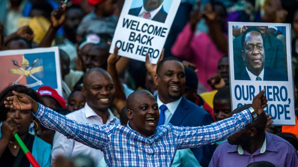 Zimbabwe after Mugabe: What happens next?