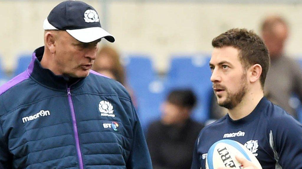 Scotland select five England-based players amid dispute