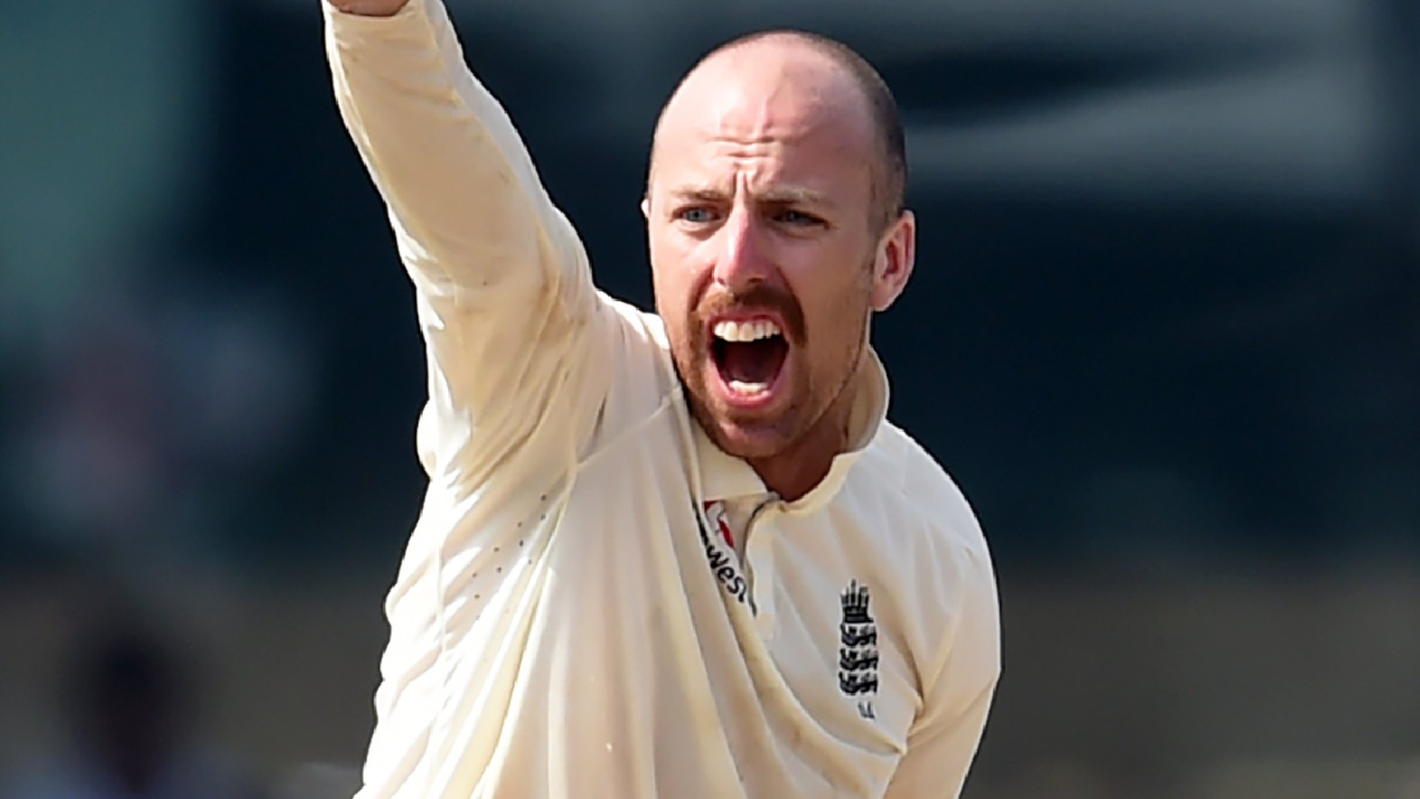 Jack Leach: England spinner signs Somerset contract extension