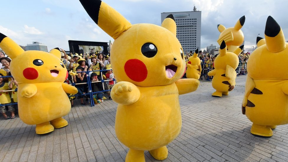Nintendo shares plunge on Pokemon profit warning