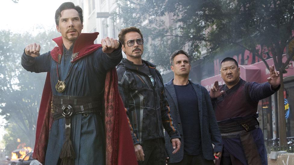 Critics hail 'bedazzling' Avengers: Infinity War