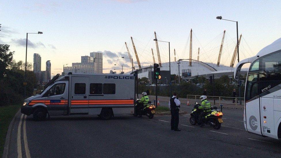 Counter terrorism arrest over North Greenwich Tube device