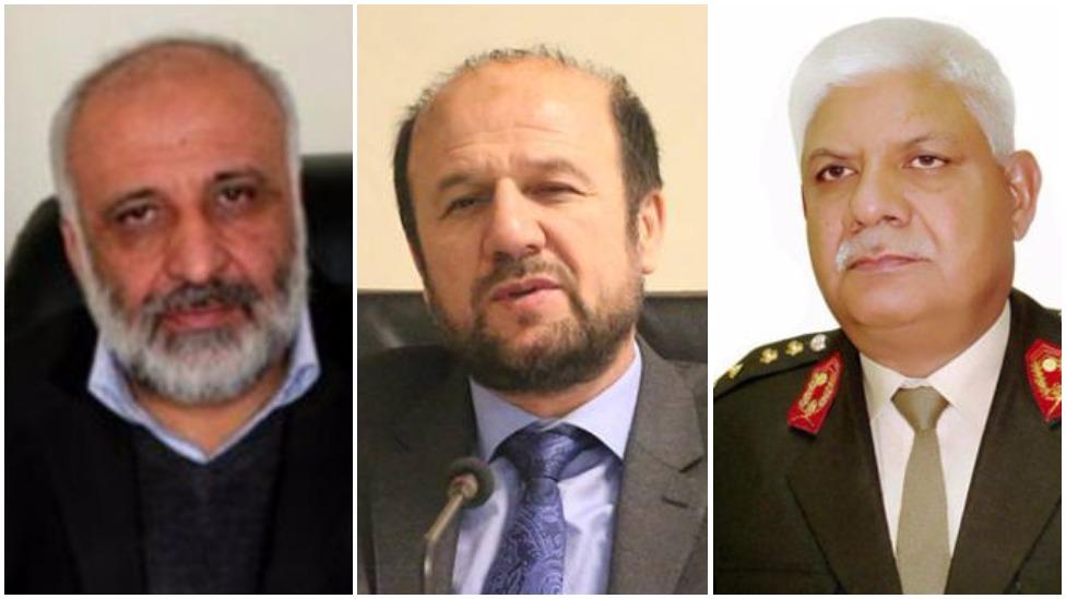 وزرای داخله، دفاع و رئیس امنیت ملی افغانستان دوباره از مجلس رای اعتماد گرفتند
