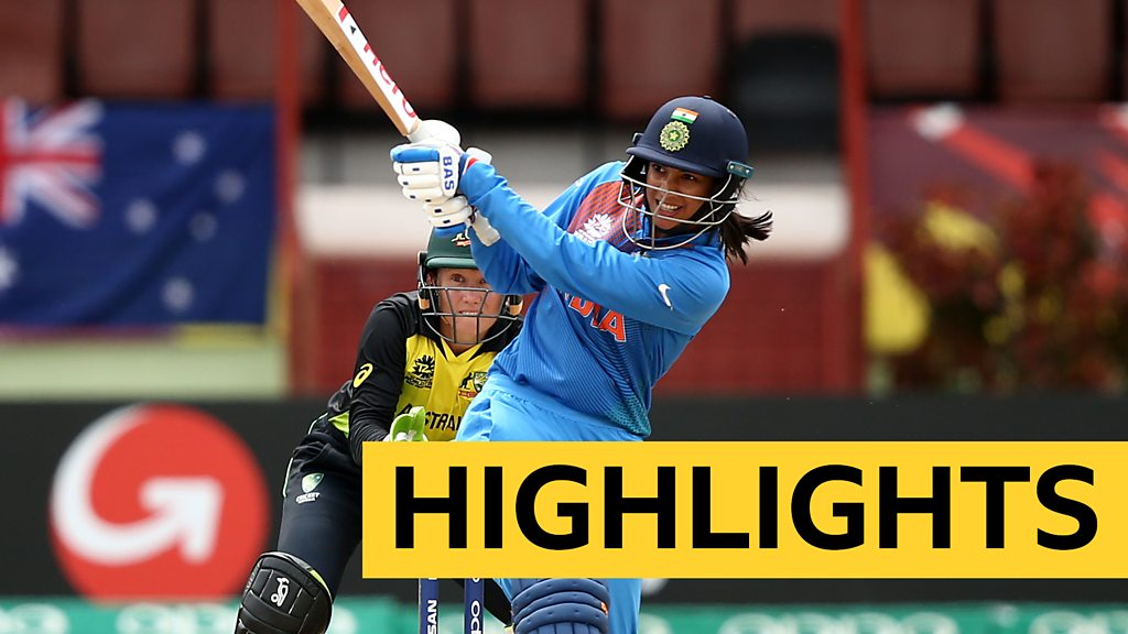 Women's World Twenty20: Big-hitting Mandhana & Kaur help India beat Australia by 48 runs