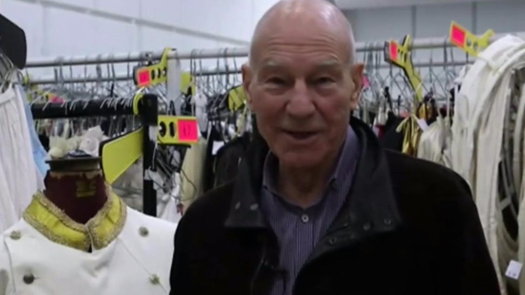 Sir Patrick Stewart's guide to RSC costume sale