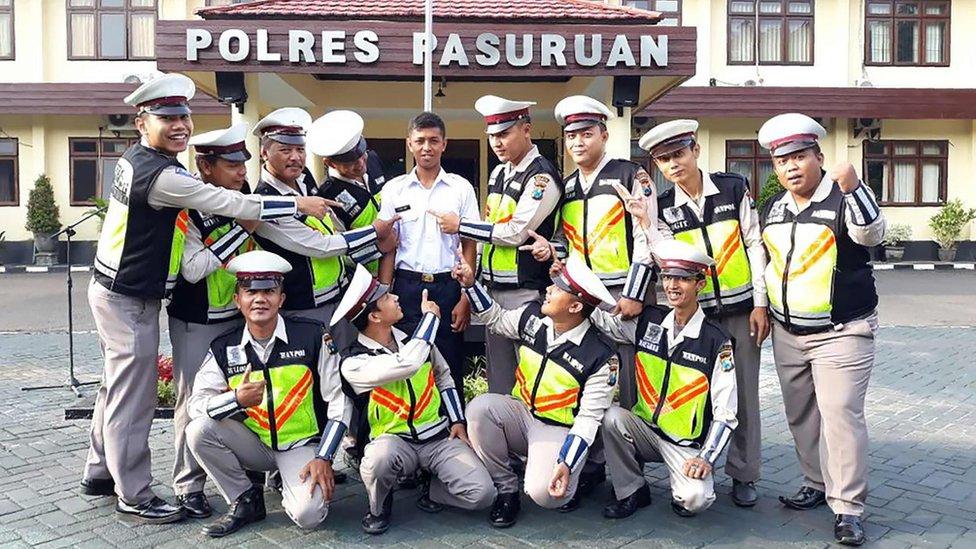 'Mr Police' lands Indonesia police job