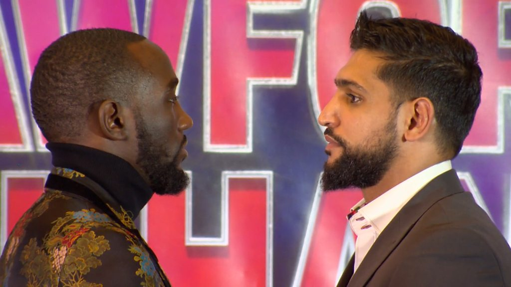 Amir Khan: 'Couldn't say no' to Terence Crawford fight