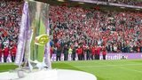 Old Trafford and the Super League trophy