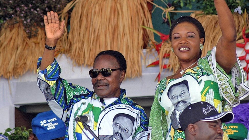 Gabon's late president Omar Bongo