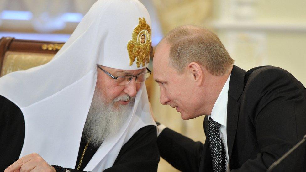 Патріарх бере участь у передвиборчій кампанії Путіна - ЗМІ