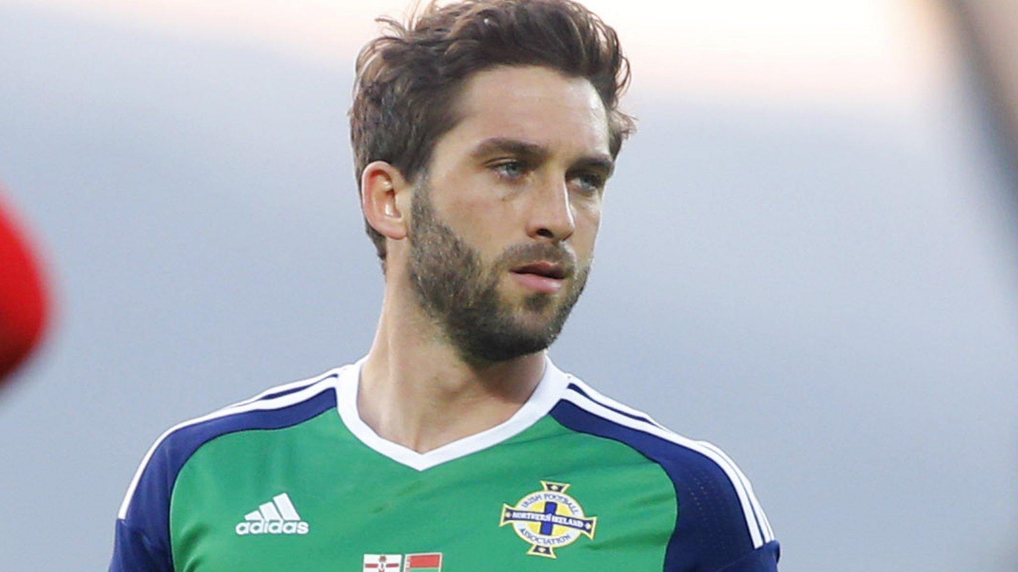 2018 World Cup: Striker Grigg to miss Northern Ireland games