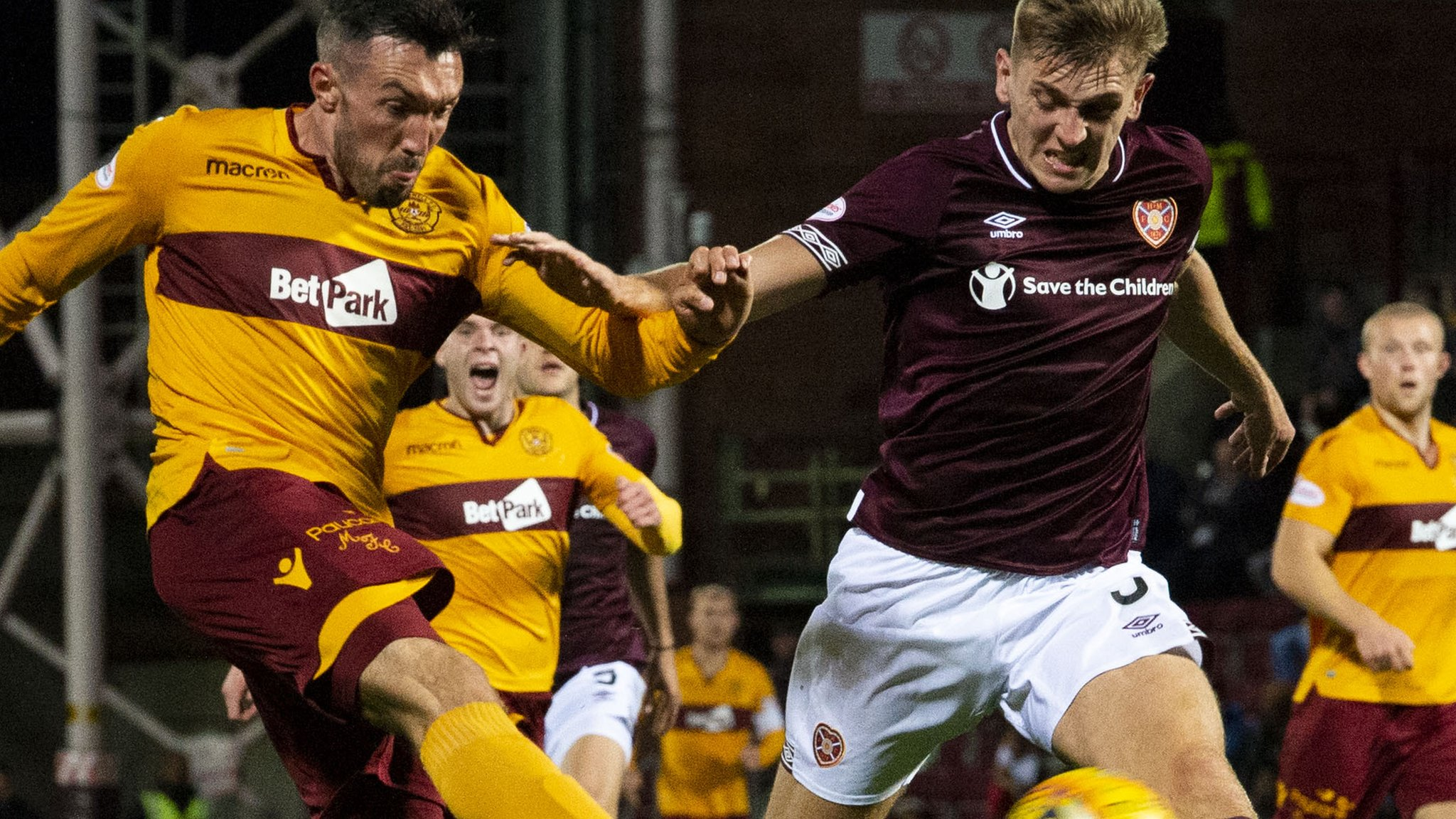 Heart of Midlothian v Motherwell
