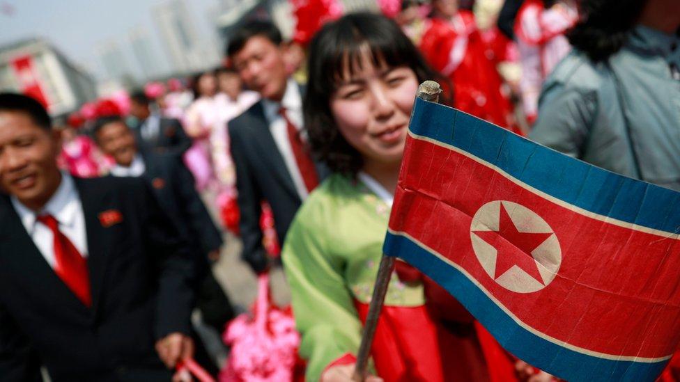észak- korea woman meeting