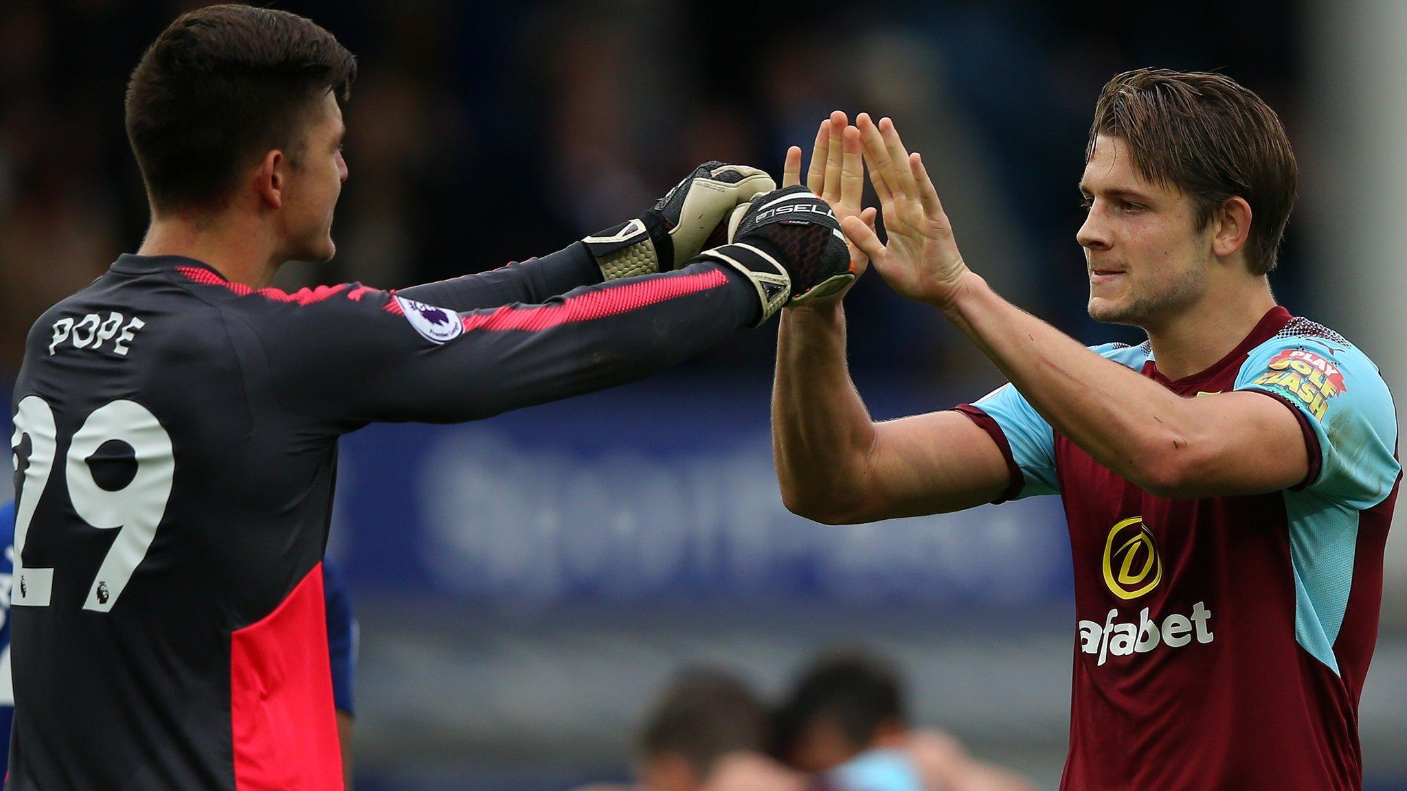 Pope & Tarkowski deserve England talk - Burnley boss Dyche