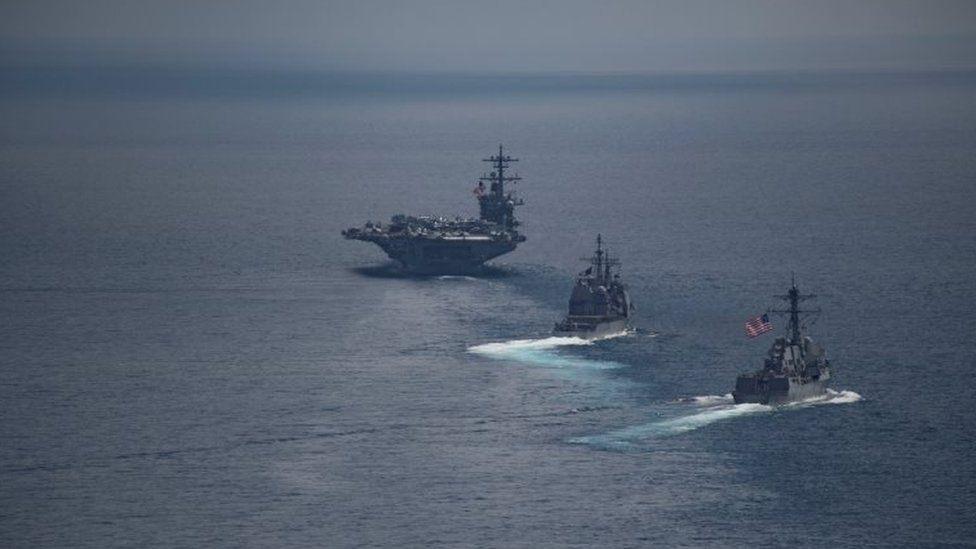 مجموعة السفن الحربية الأمريكية كارل فينسون