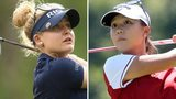 Charley Hull and Lydia Ko