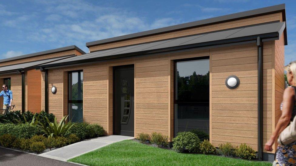 Prefab pods plan to tackle Gwynedd housing demand
