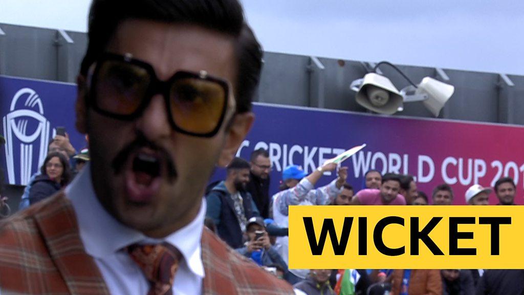 Cricket World Cup: Bollywood star Ranveer Singh cheers Babar Azam wicket