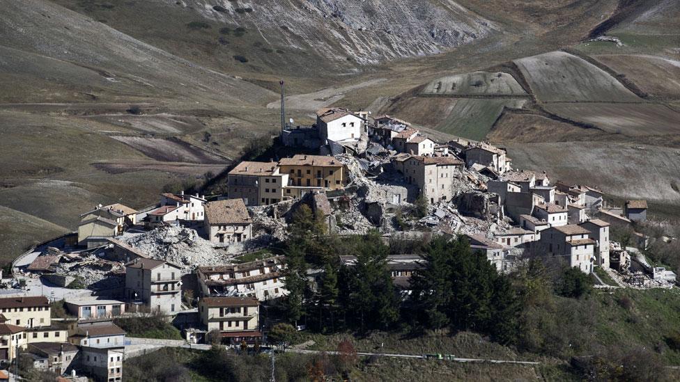 Edificios de Castelluccio