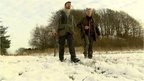 Danish hunters (c) BBC