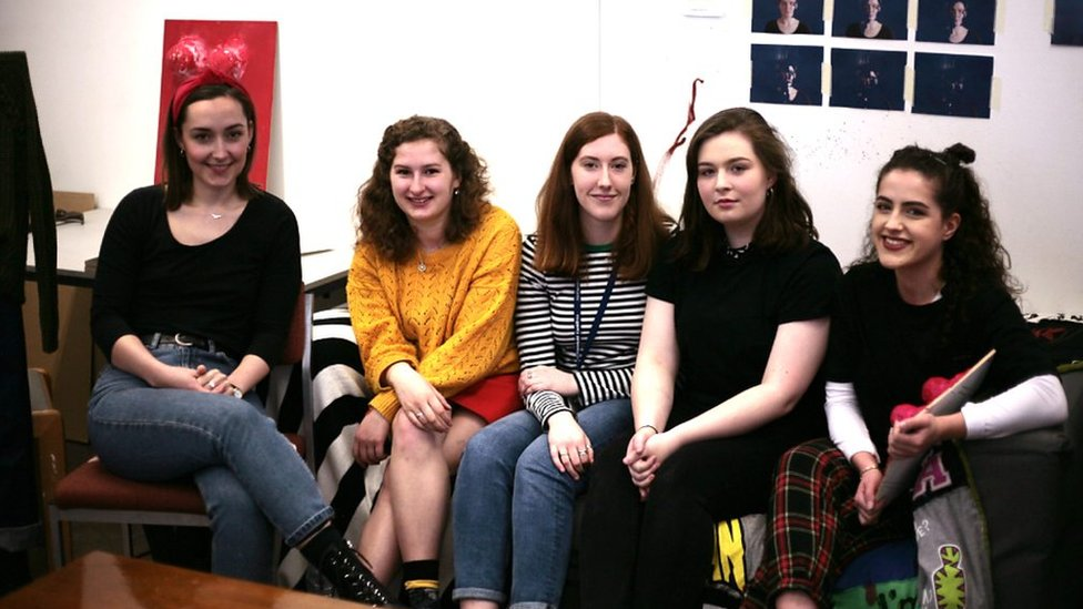 Cardiff students talk about gender equality in art