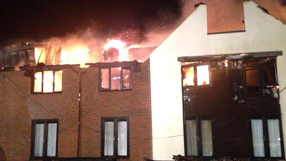 Wokefield Park Country Hotel In Berkshire Hit By Major Fire