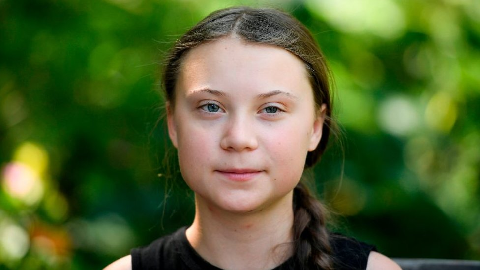 Greta Thunberg: Climate change activist is halfway to the ...