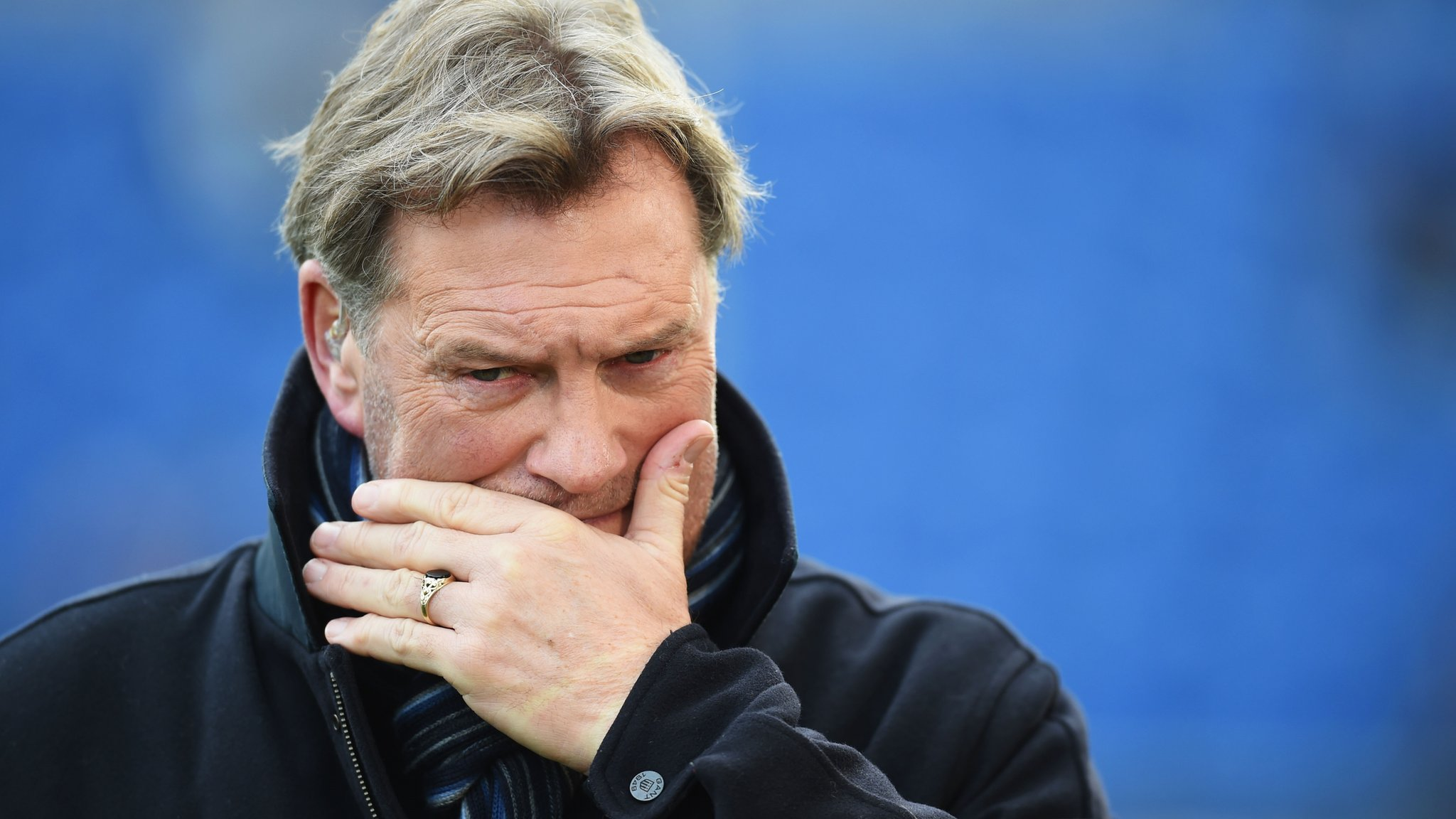 Glenn Hoddle says he is 'lucky' to be alive after cardiac arrest | BBC